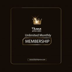 Premium Membership Unlimited Monthly