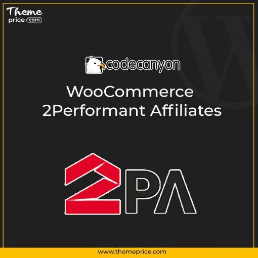 2PA – WooCommerce 2Performant Affiliates