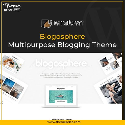 Blogosphere – Multipurpose Blogging Theme