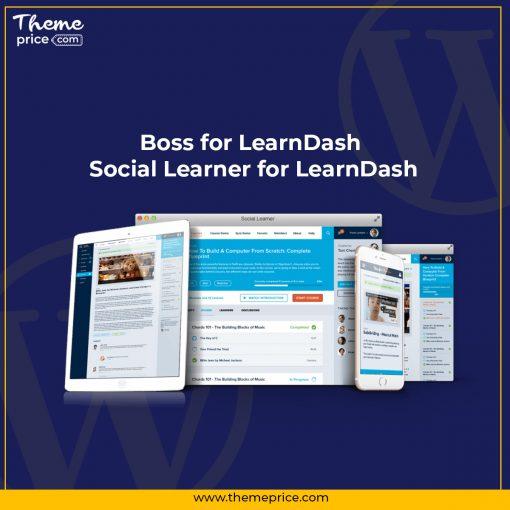 Boss for LearnDash – Social Learner for LearnDash