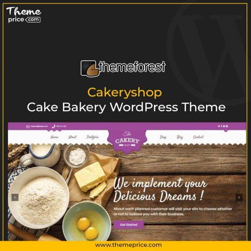 Cakeryshop – Cake Bakery WordPress Theme