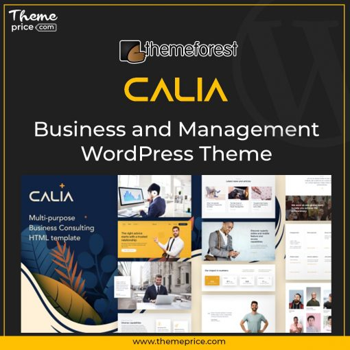 Calia – Business and Management WordPress Theme