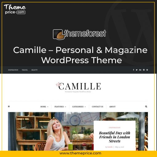 Camille – Personal & Magazine WordPress Theme