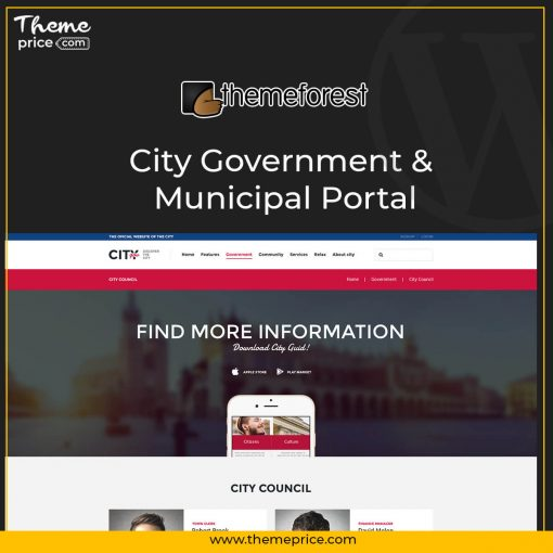 City Government & Municipal Portal