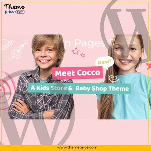 Cocco Theme Kids Store and Baby Shop Theme