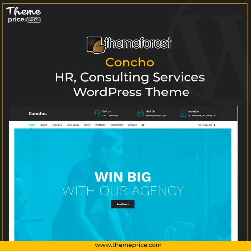Concho – HR, Consulting Services WordPress Theme