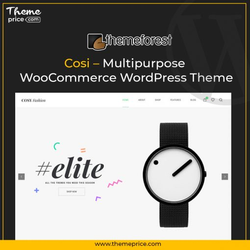 Cosi – Multipurpose WooCommerce WordPress Theme