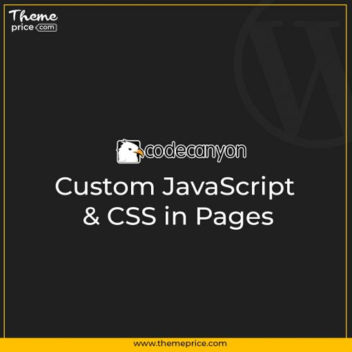 Custom JavaScript & CSS in Pages