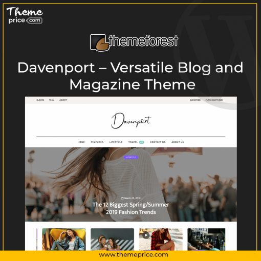 Davenport – Versatile Blog and Magazine Theme