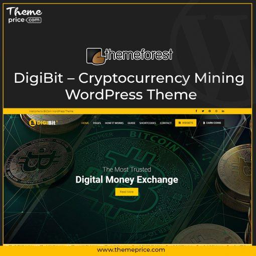 DigiBit – Cryptocurrency Mining WordPress Theme