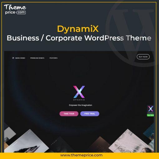 DynamiX – Business Corporate WordPress Theme
