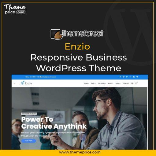 Enzio – Responsive Business WordPress Theme