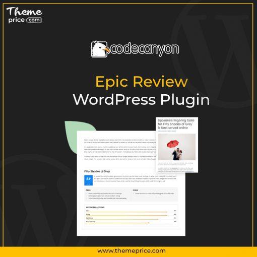 Epic Review – WordPress Plugin
