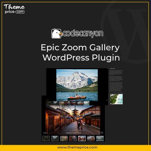 Epic Zoom Gallery WordPress Plugin