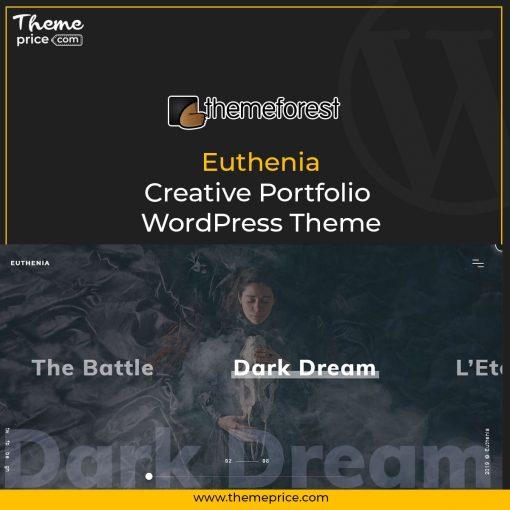 Euthenia – Creative Portfolio WordPress Theme