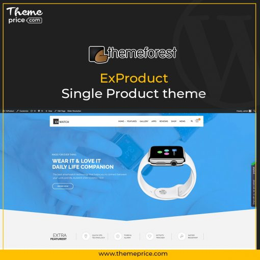 ExProduct – Single Product theme