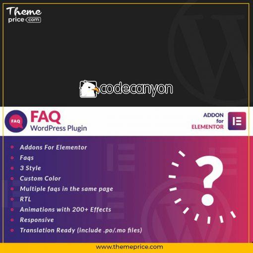 Faq for Elementor WordPress Plugin