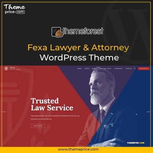 Fexa Lawyer & Attorney WordPress Theme
