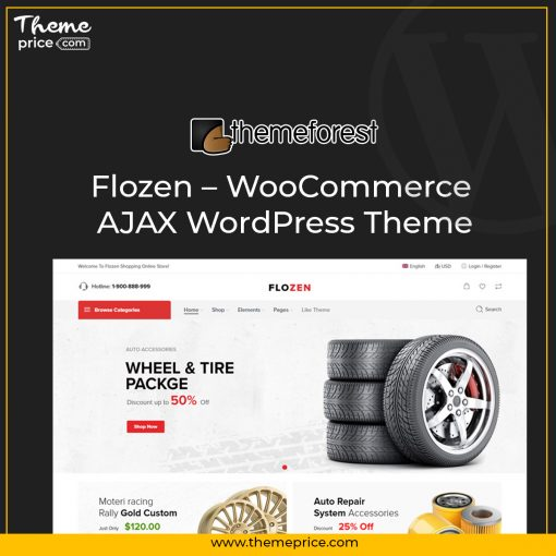 Flozen – WooCommerce AJAX WordPress Theme