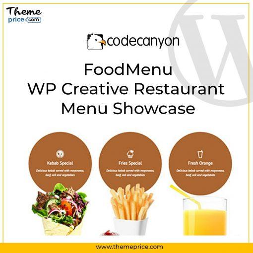 FoodMenu – WP Creative Restaurant Menu Showcase