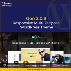 Gon 2.0.8 | Responsive Multi-Purpose WordPress Theme