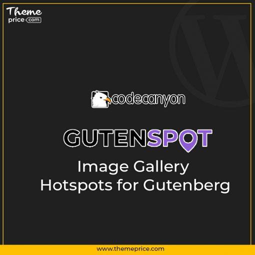 GutenSpot – Image Gallery Hotspots for Gutenberg