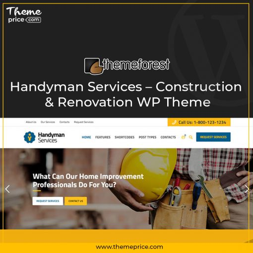 Handyman Services – Construction & Renovation WP Theme