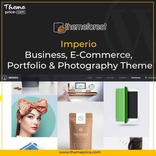 Imperio – Business, E-Commerce, Portfolio & Photography Theme
