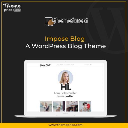 Impose Blog – A WordPress Blog Theme