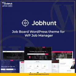 Jobhunt – Job Board WordPress theme for WP Job Manager