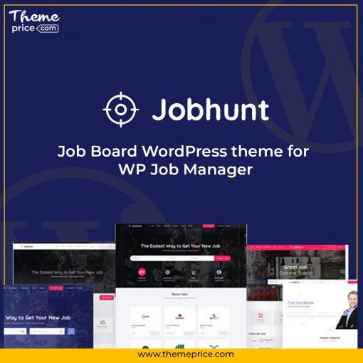 Jobhunt – Job Board WordPress theme for WP Job Manager