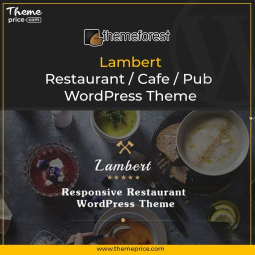 Lambert – Restaurant / Cafe / Pub WordPress Theme