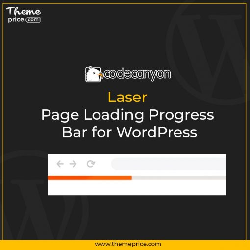 Laser – Page Loading Progress Bar for WordPress