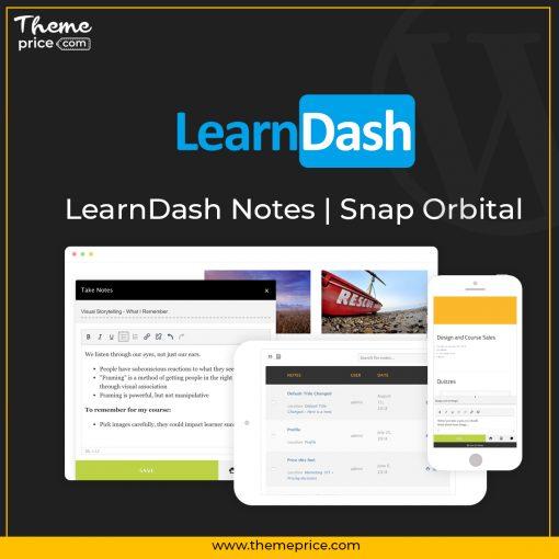LearnDash Notes | Snap Orbital
