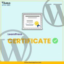 LearnPress – Certificates