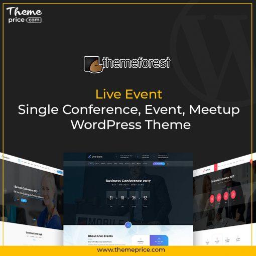 Live Event – Single Conference, Event, Meetup WordPress Theme-min