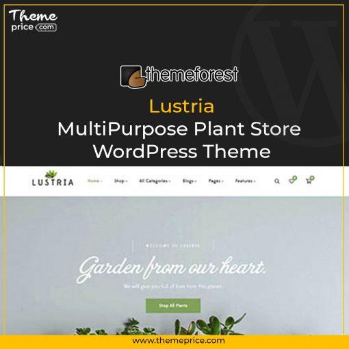 Lustria – MultiPurpose Plant Store WordPress Theme