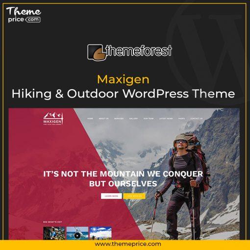 Maxigen – Hiking & Outdoor WordPress Theme