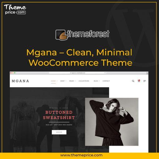 Mgana – Clean, Minimal WooCommerce Theme
