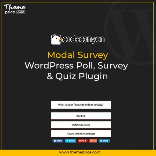 Modal Survey – WordPress Poll, Survey & Quiz Plugin