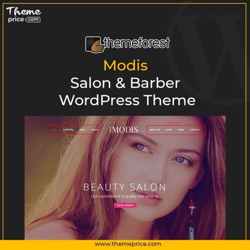 Modis – Salon & Barber WordPress Theme