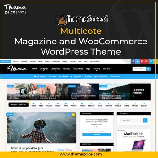 Multicote – Magazine and WooCommerce WordPress Theme