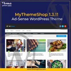 MyThemeShop 1.3.11 Ad-Sense WordPress Theme