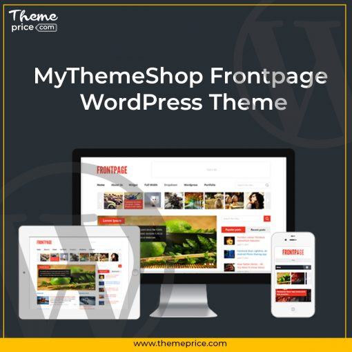 MyThemeShop Frontpage WordPress Theme