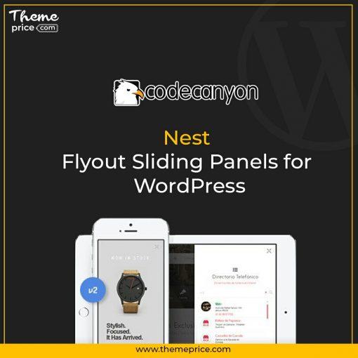 Nest – Flyout Sliding Panels for WordPress