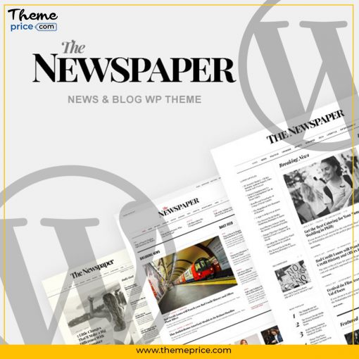 NewsPaper – News & Magazine WordPress Theme