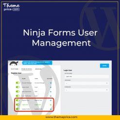 Ninja Forms User Management