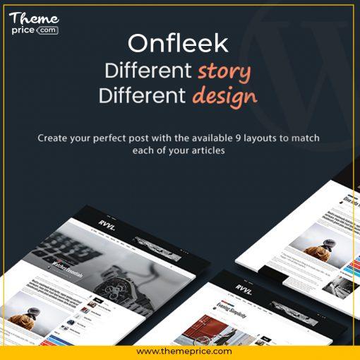 Onfleek – AMP Ready and Responsive Magazine Theme