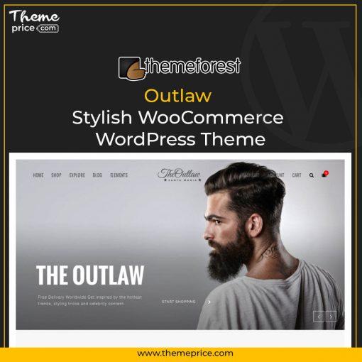 Outlaw – Stylish WooCommerce WordPress Theme