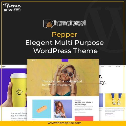 Pepper – Elegent Multi Purpose WordPress Theme